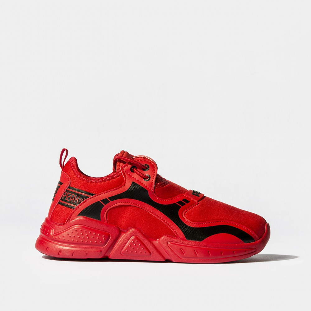Chaussure snap Rouge