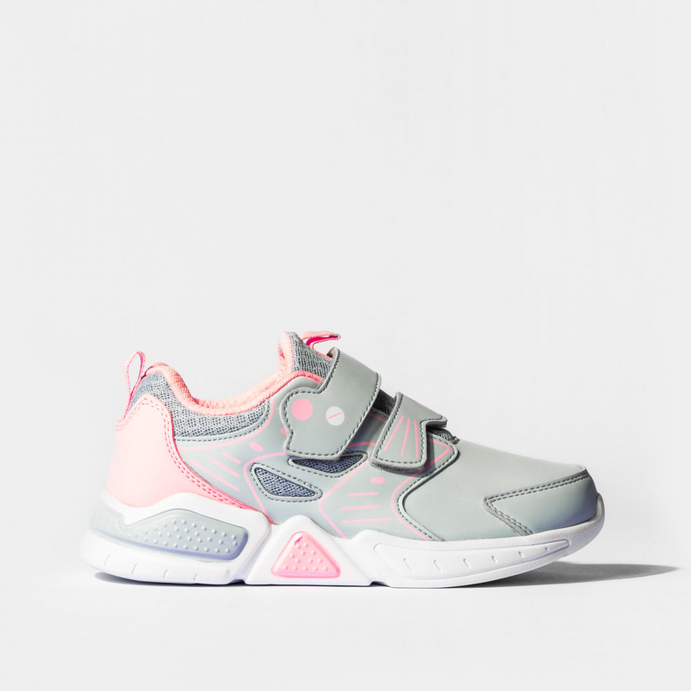 Chaussure snap plus Gris rose