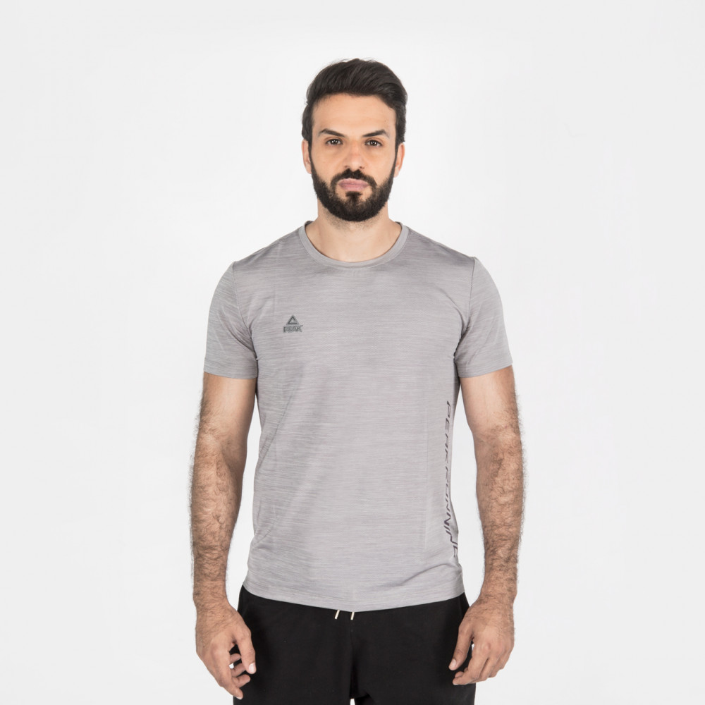 T-shirts fitness Gris