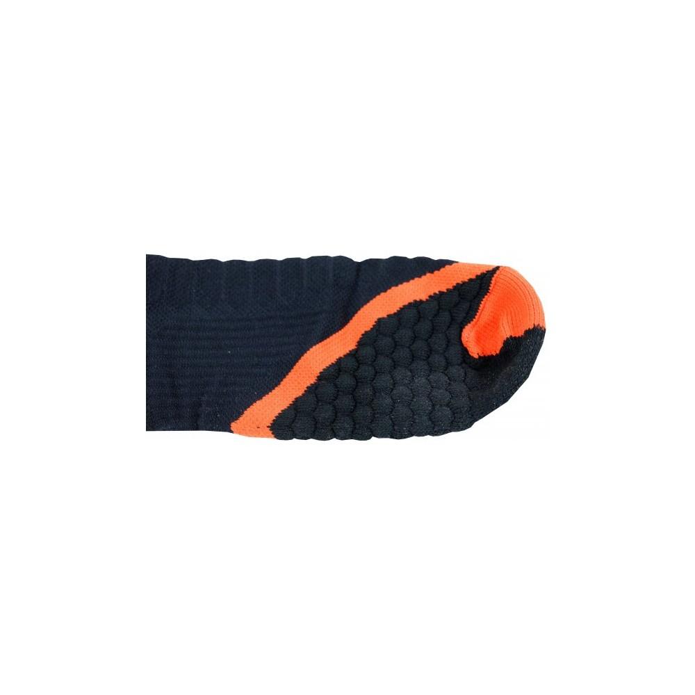 Chaussette Noir orange