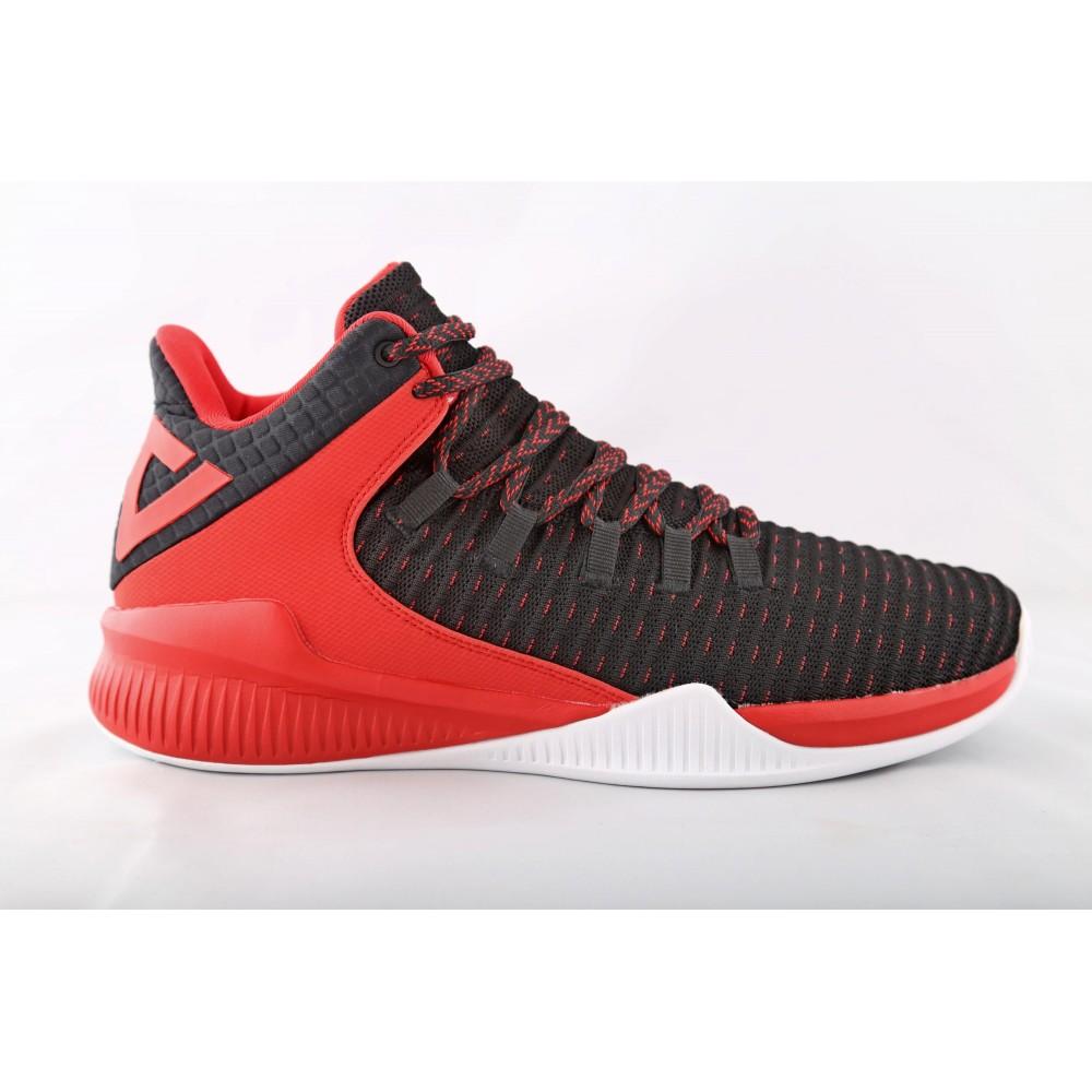 Basket street Noir rouge