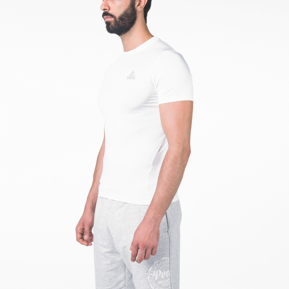T-shirts training Blanc