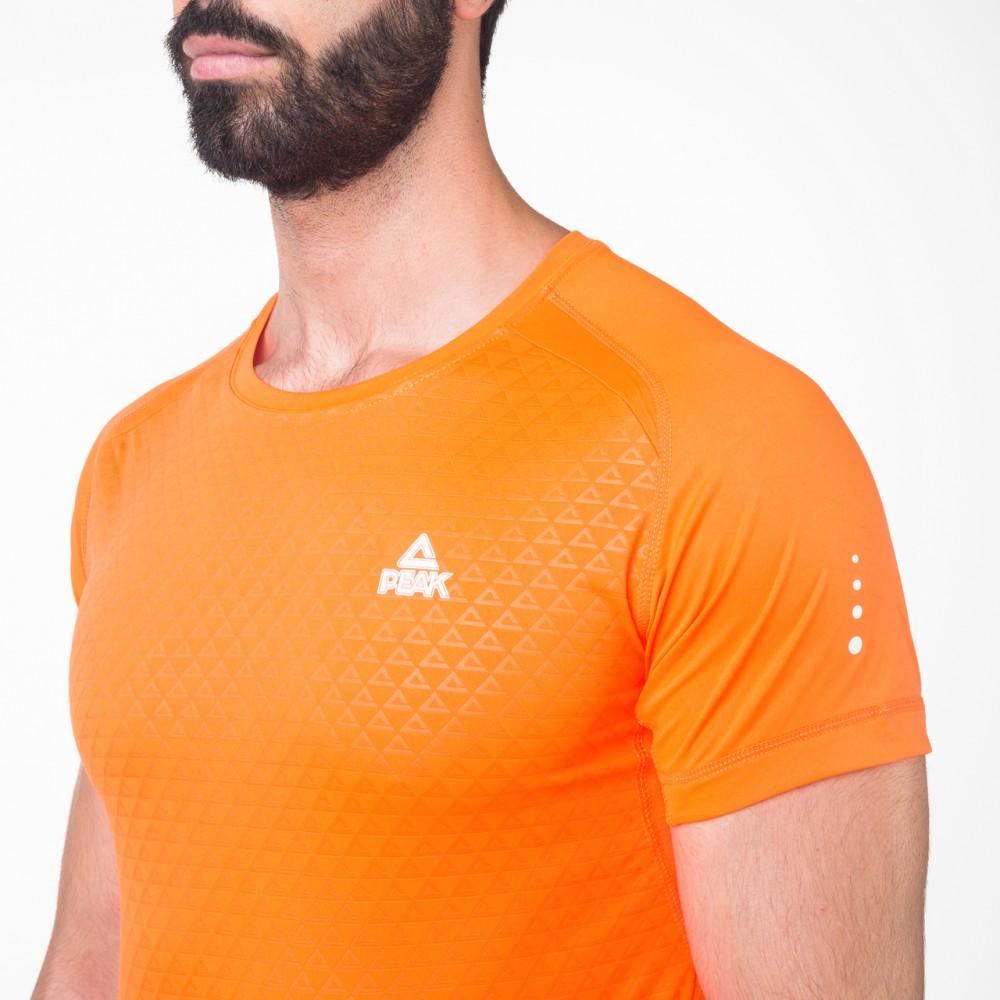 T-shirts running plus Orange