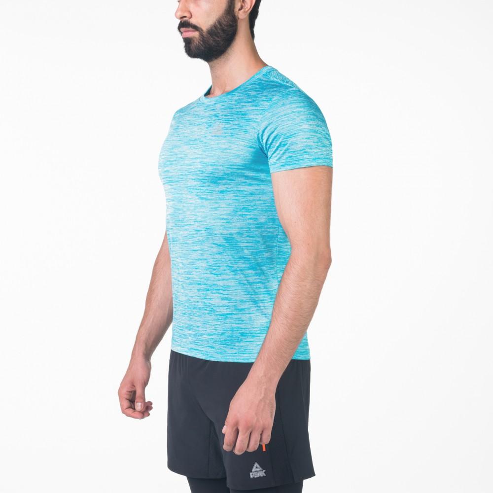 T-shirts crossfit Bleu