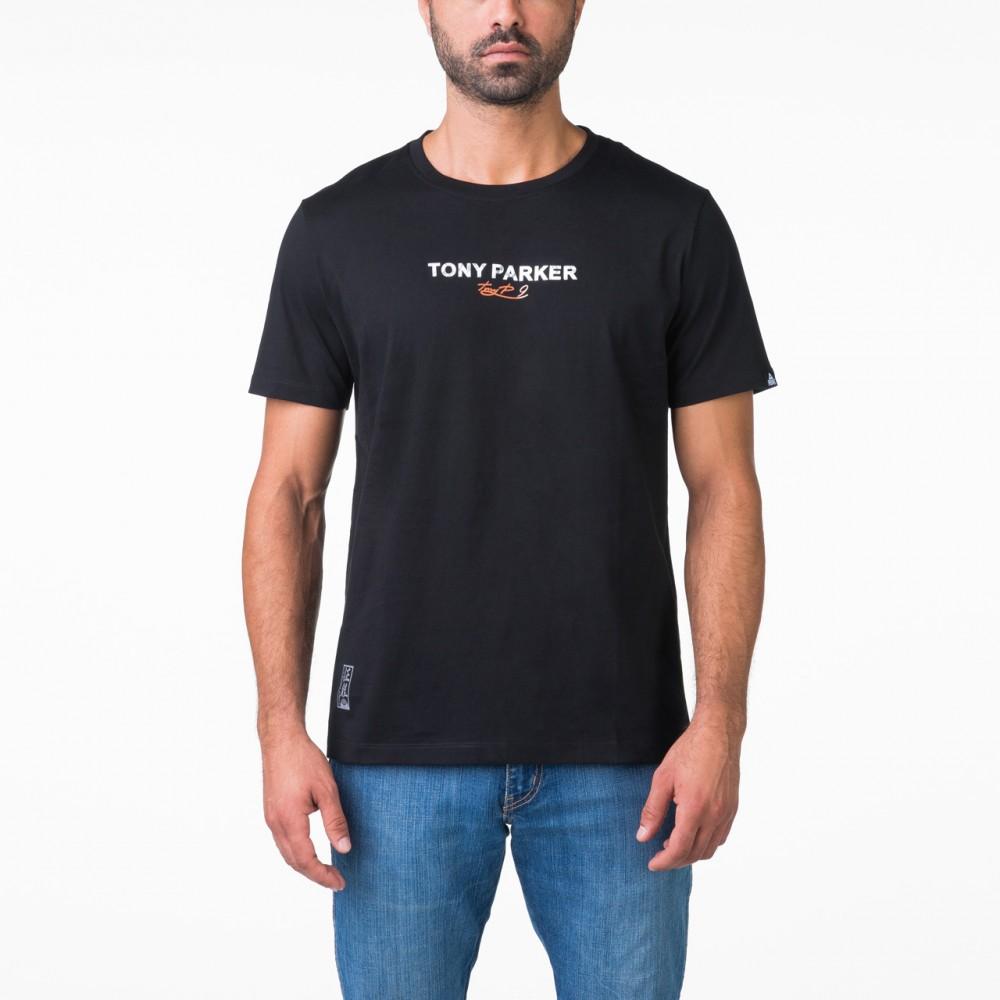 T-shirt tony parker Noir