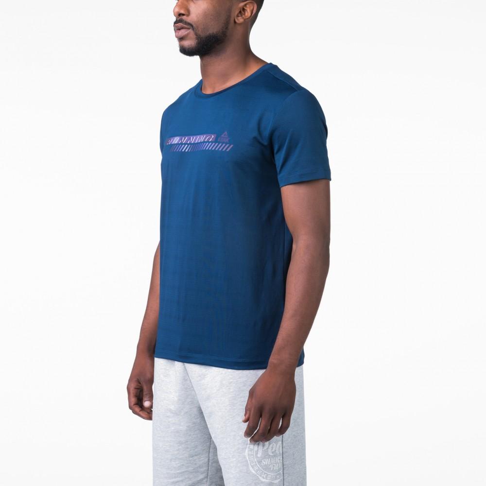 t-shirt training competition bleu