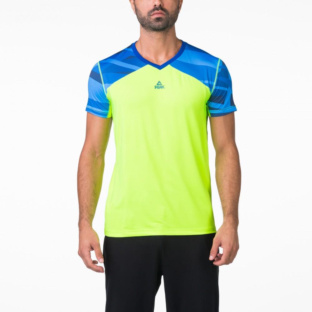 T-shirt training pro Vert bleu