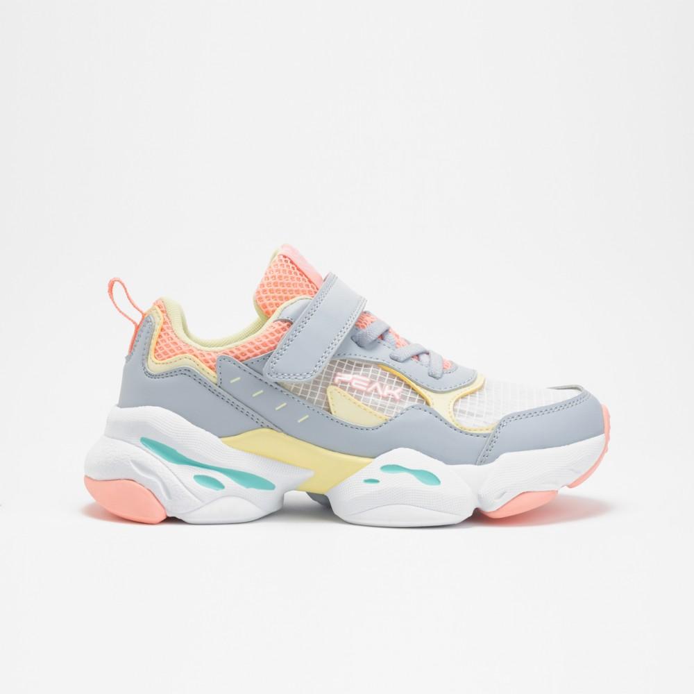 chaussure basket peak deep kids bleu rose pour enfants
