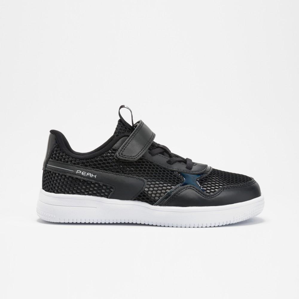chaussure basket peak classic kids noir pour enfants