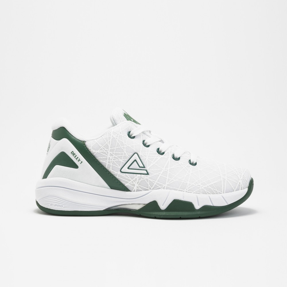 chaussure basketball delly blanc pour kids