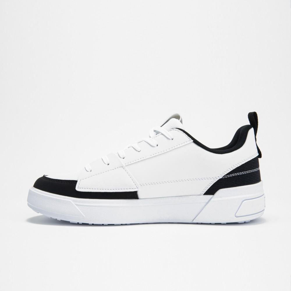 Chaussure classic v Blanc noir