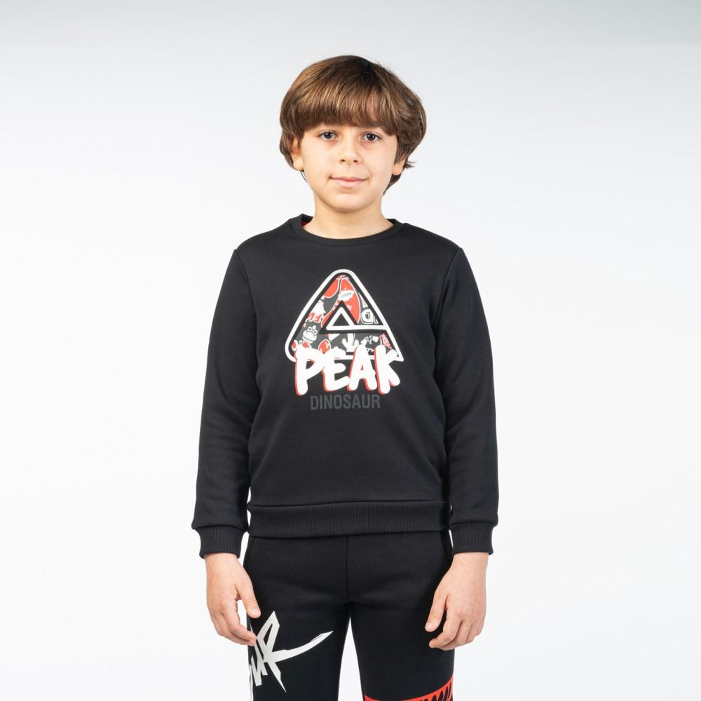 Sweat shirt peak kids Noir