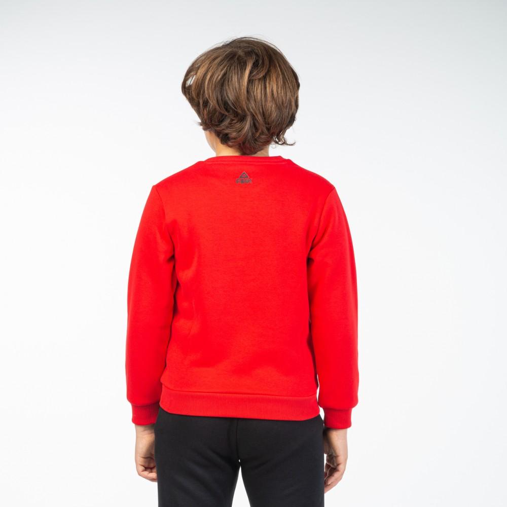 Sweat shirt peak kids Rouge