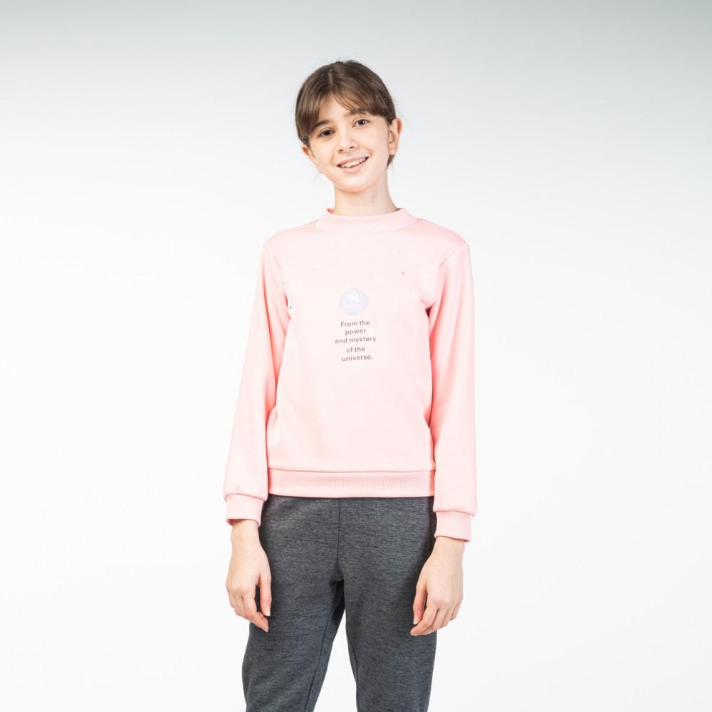 Sweat shirt peak kids Rose
