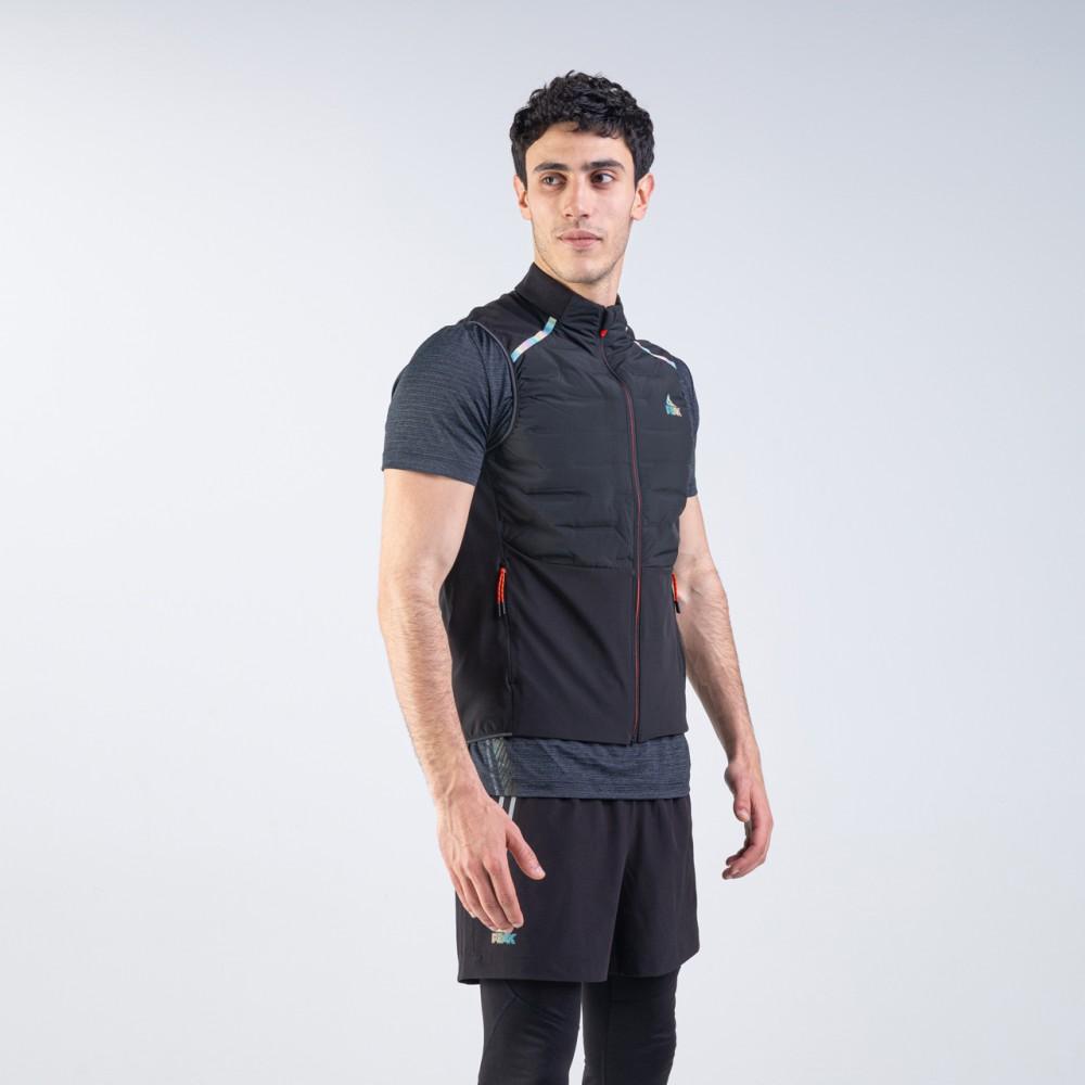 jacket running noir sans manche tunisie pour homme 2021