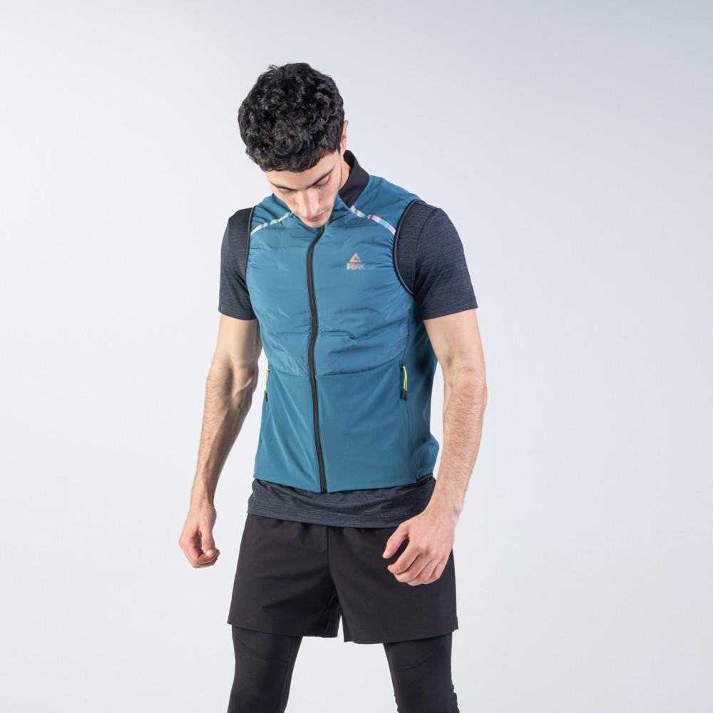 jacket running bleu ciel sans manche tunisie pour homme