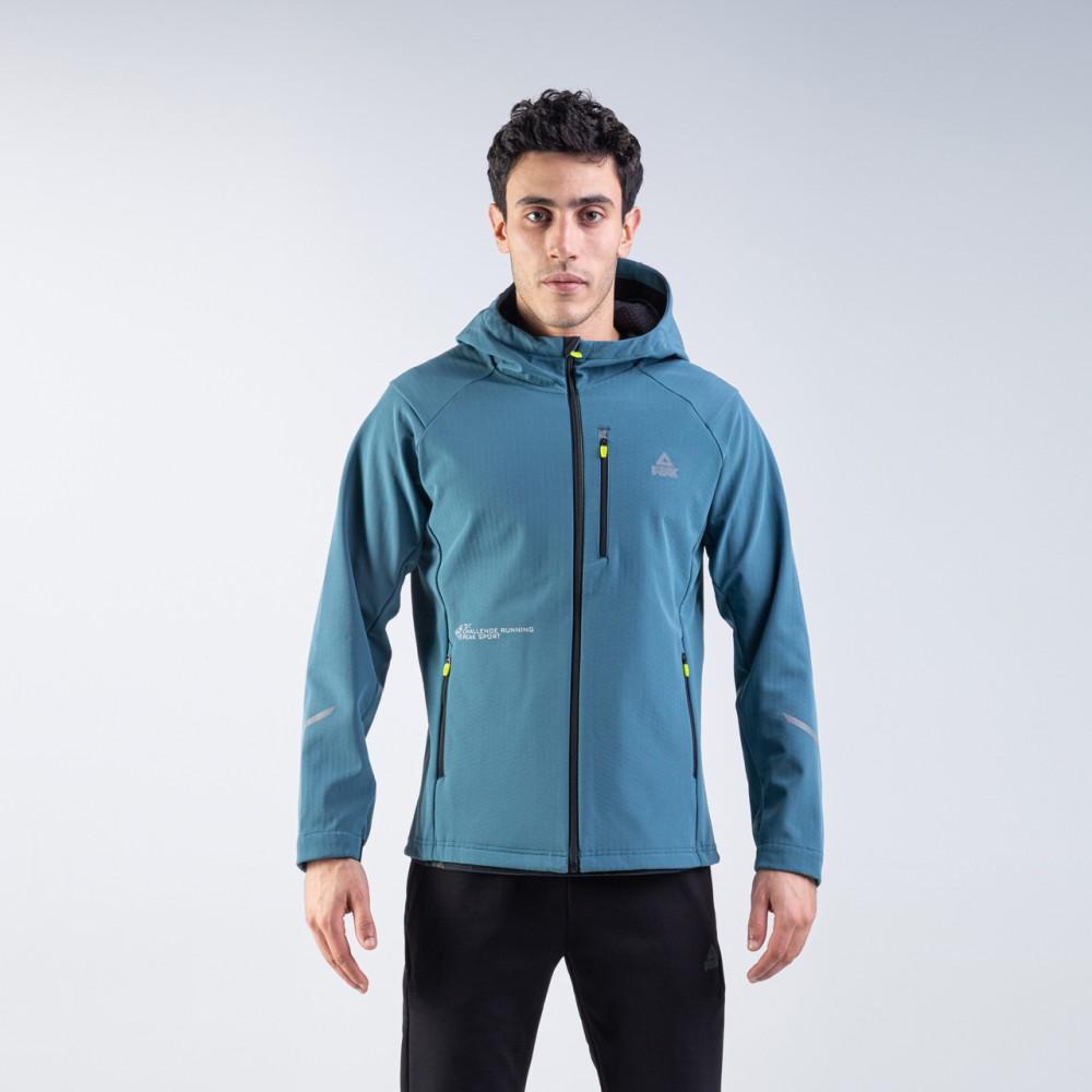 veste à capuche imperméable  homme bleu ciel pour running tunisie