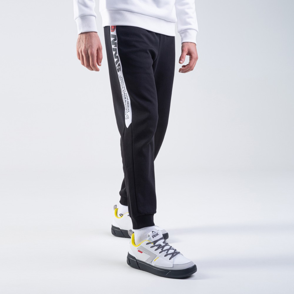Pantalon noir blanc sww pour homme