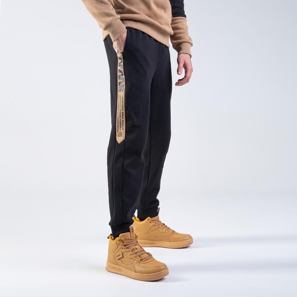 Pantalon noir marron sww pour homme