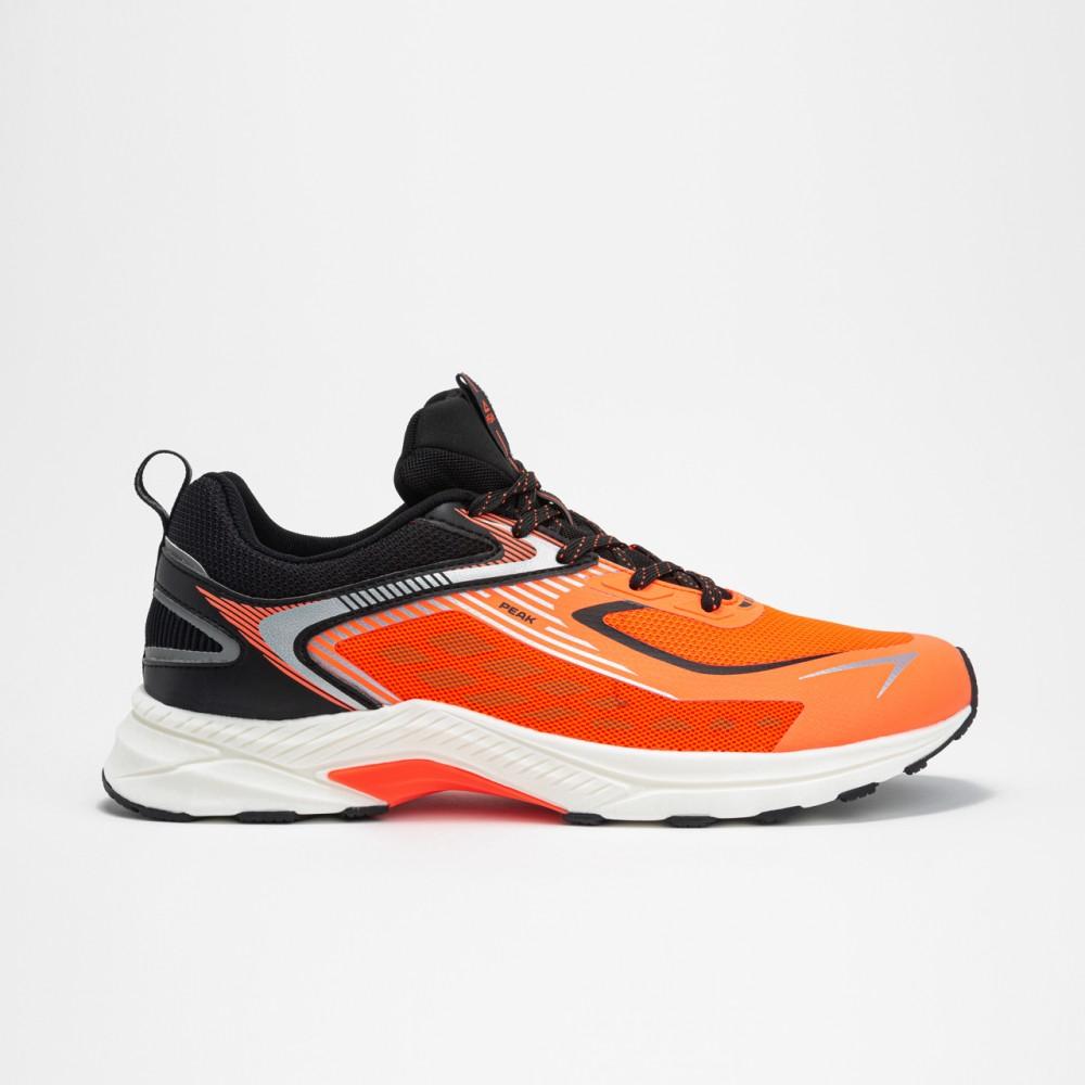 Chaussure homme running move orange noir