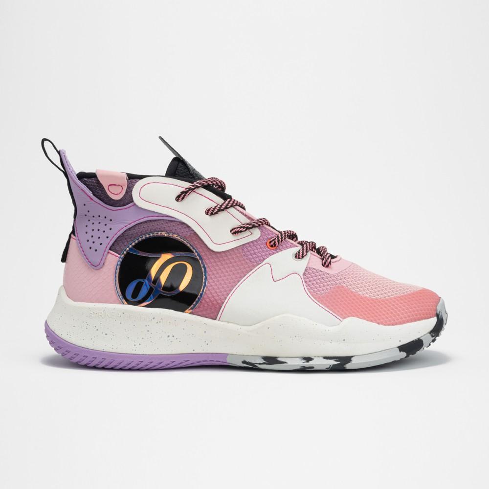 Chaussure de basketball rose violet tunisie  5