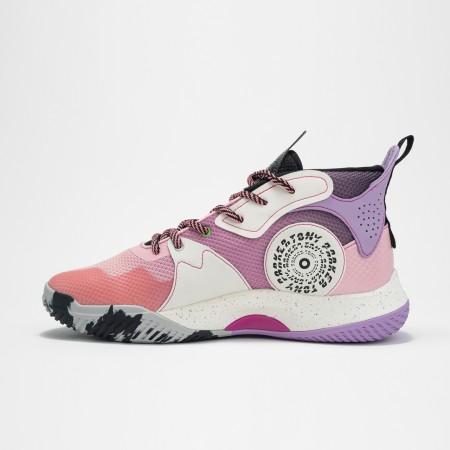 Chaussure de basketball rose violet tunisie  6