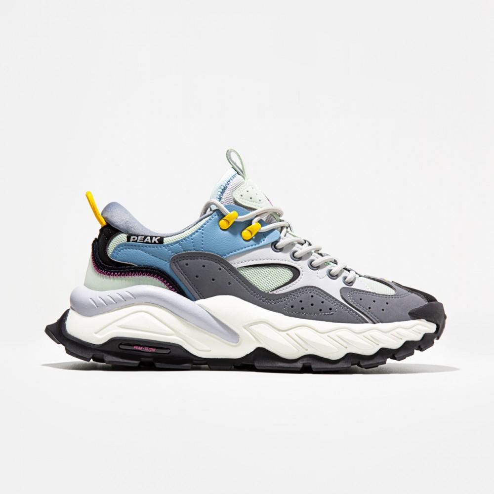 chaussure gear plus gris bleu confortable