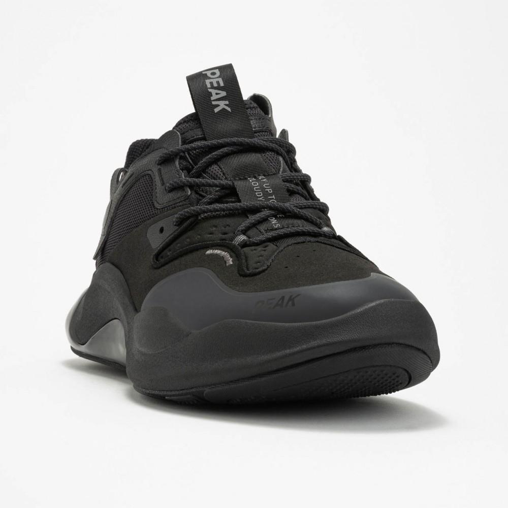chaussure sport chic et  lifestyle pour femme noir