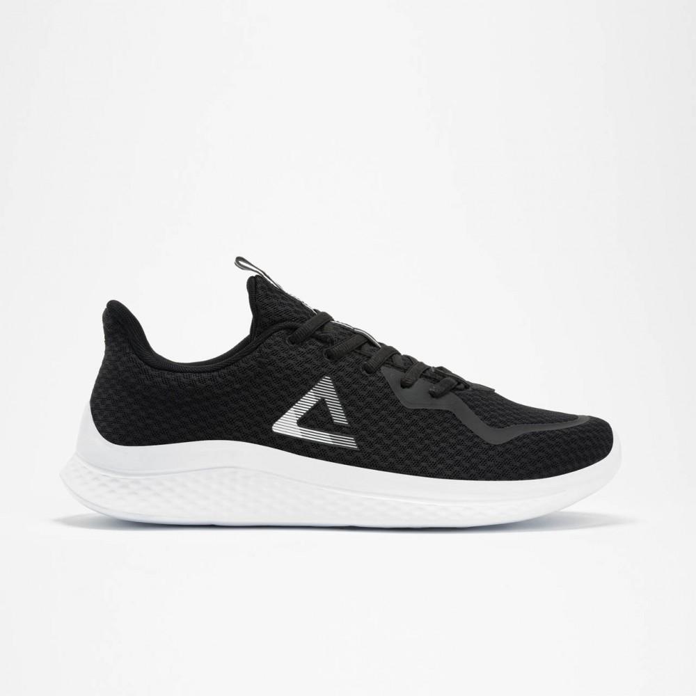 Chaussure de sport mixte noir blanc