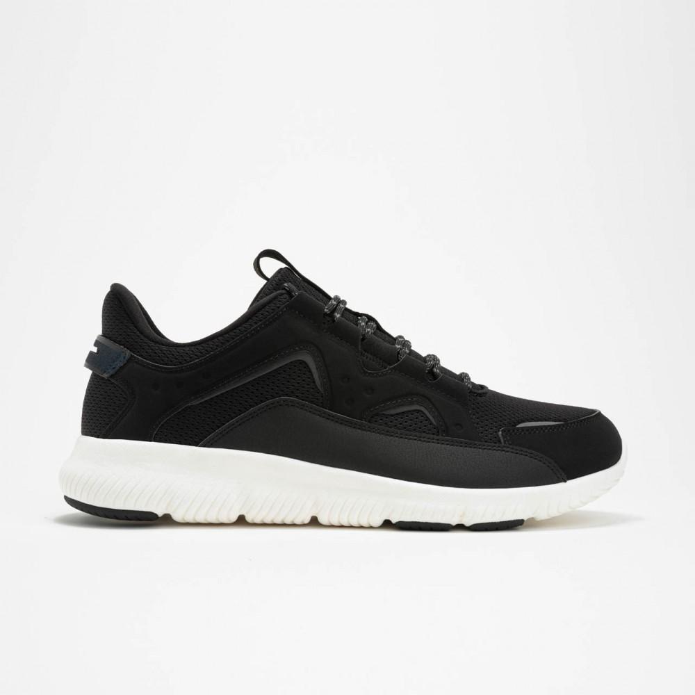 Chaussure Peak classique confort noir blanc