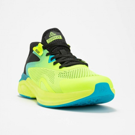 chaussure de running pour homme vert jaune  de haut de gamme 3