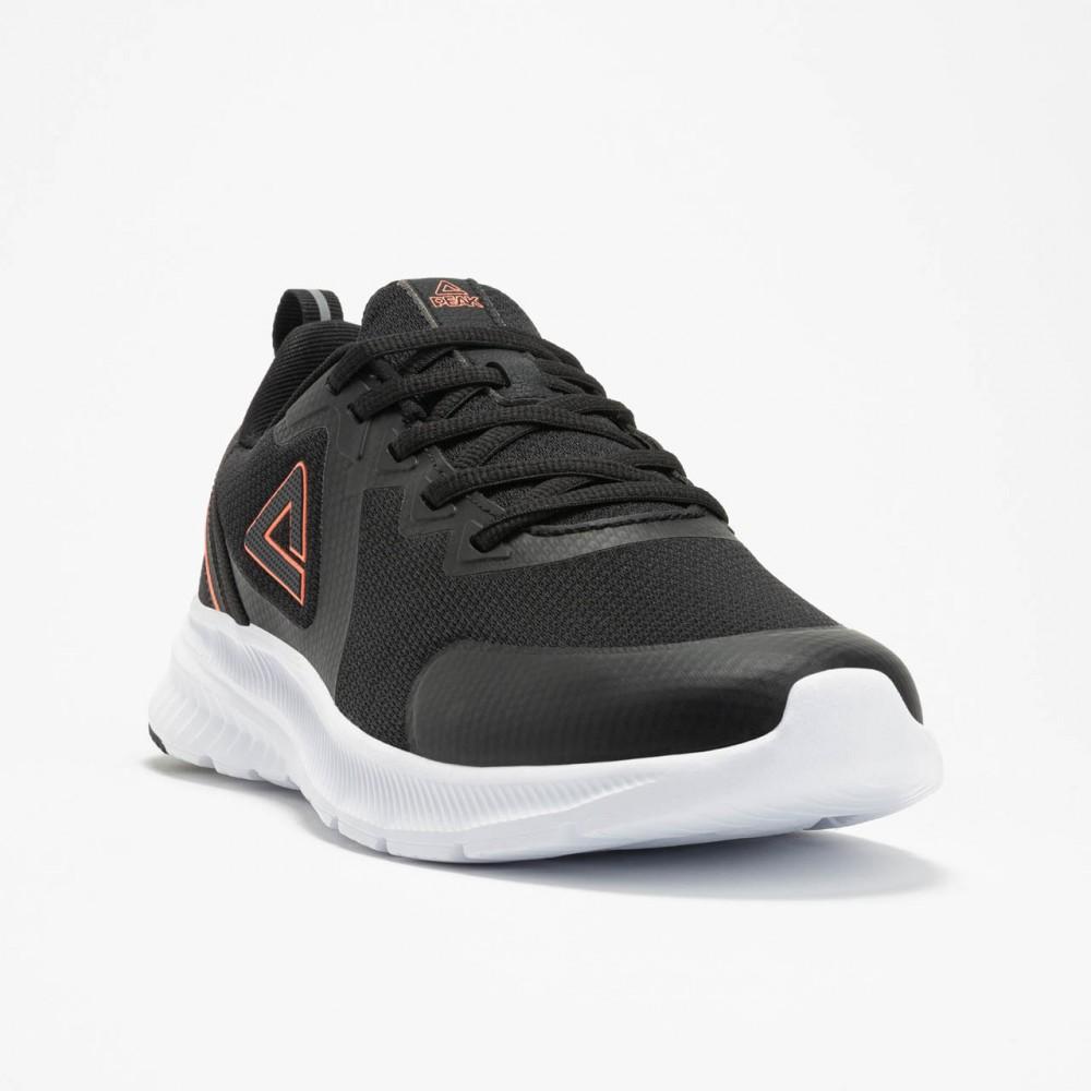 Chaussure de sport et running femme Tunisie P-Run noir blanc