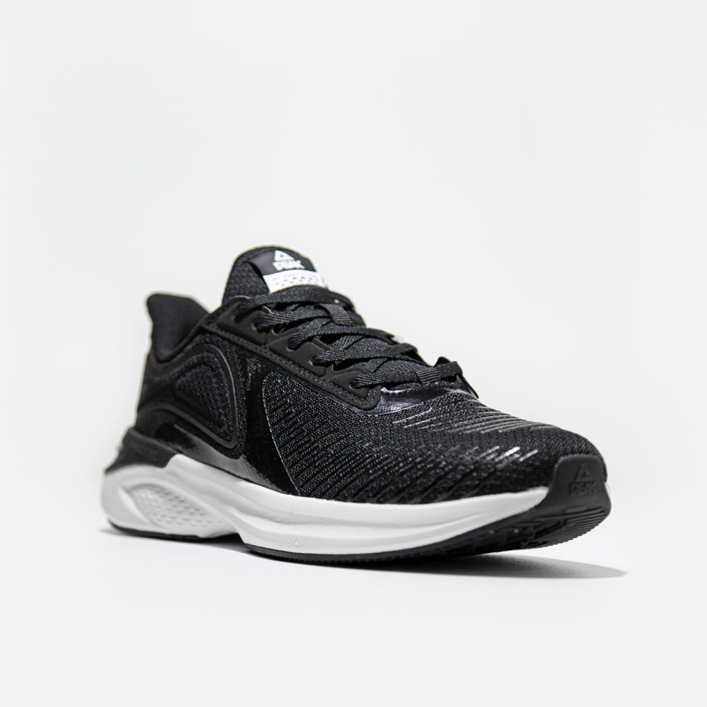 Chaussure  de running pour homme et femme noir blanc