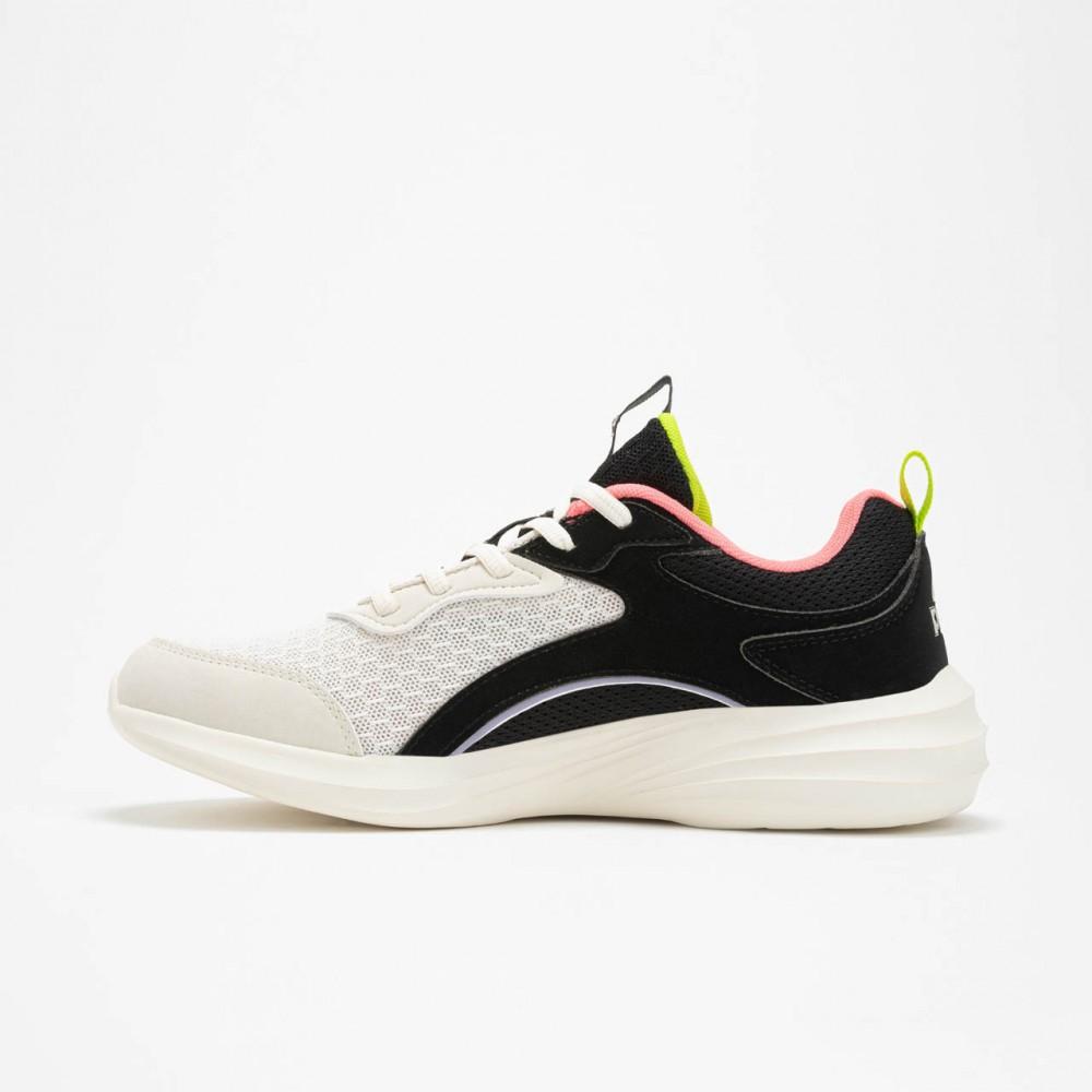 Chaussure de sport et running balance blanc noir orange femme