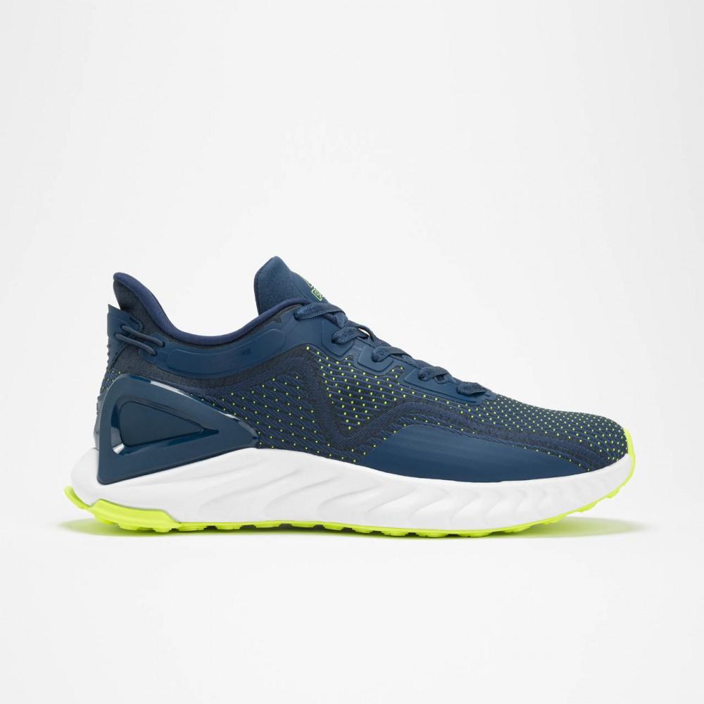 Chaussure confortable et disign pour homme bleu vert