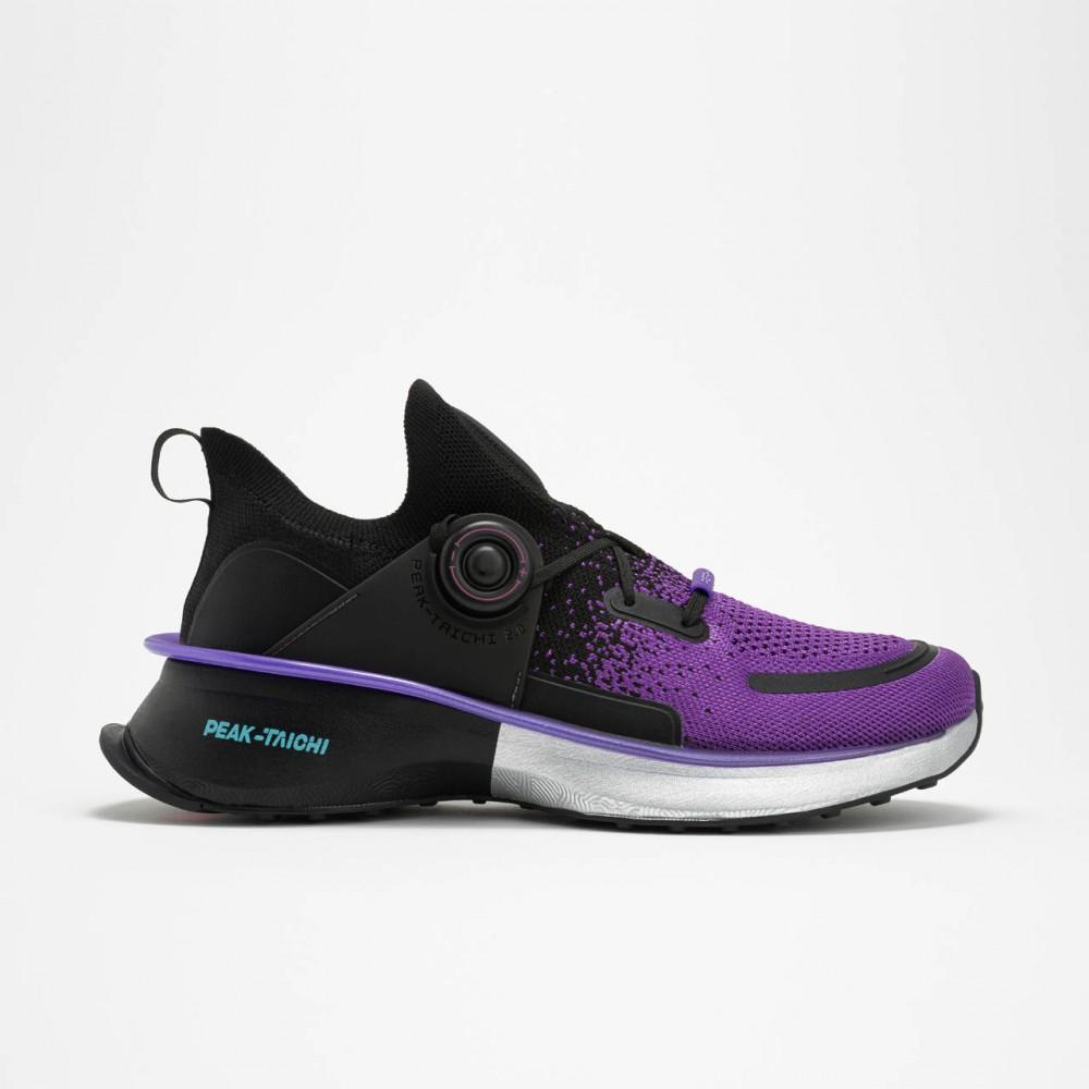 Chaussure de running de haut de gamme peak taichi 2.0 noir violet