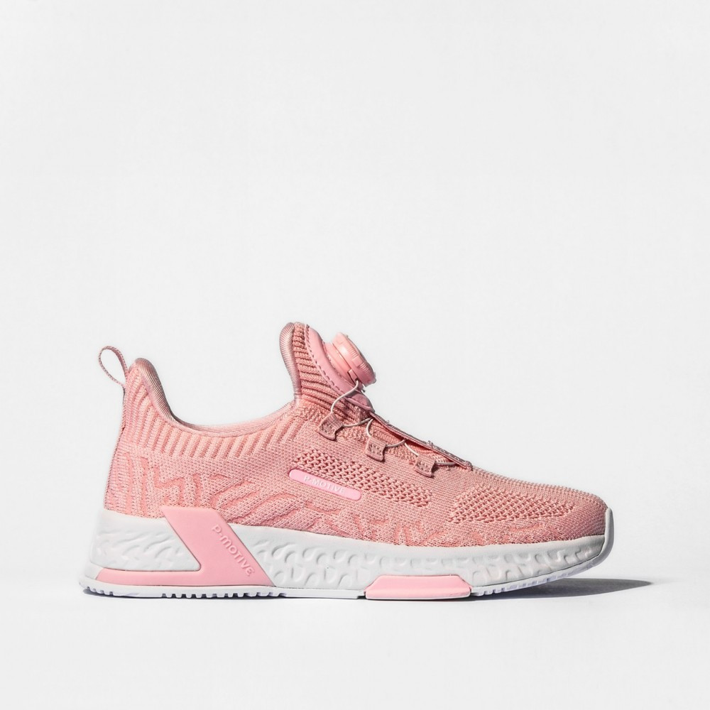 chaussure basket fille underground rose pour enfants